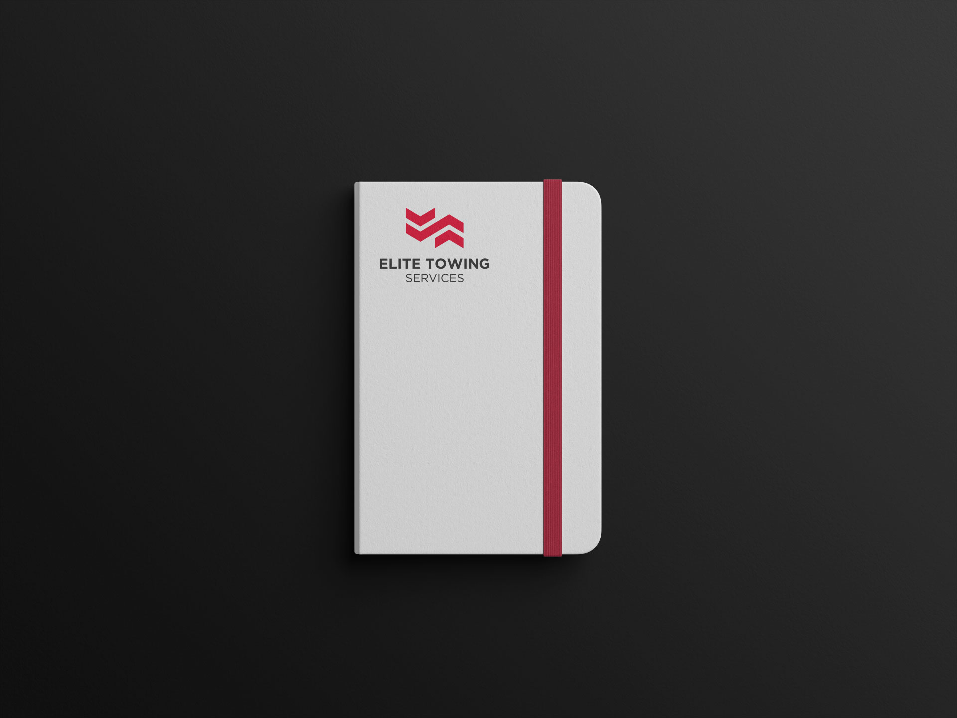Elite Towing Services Notepad White