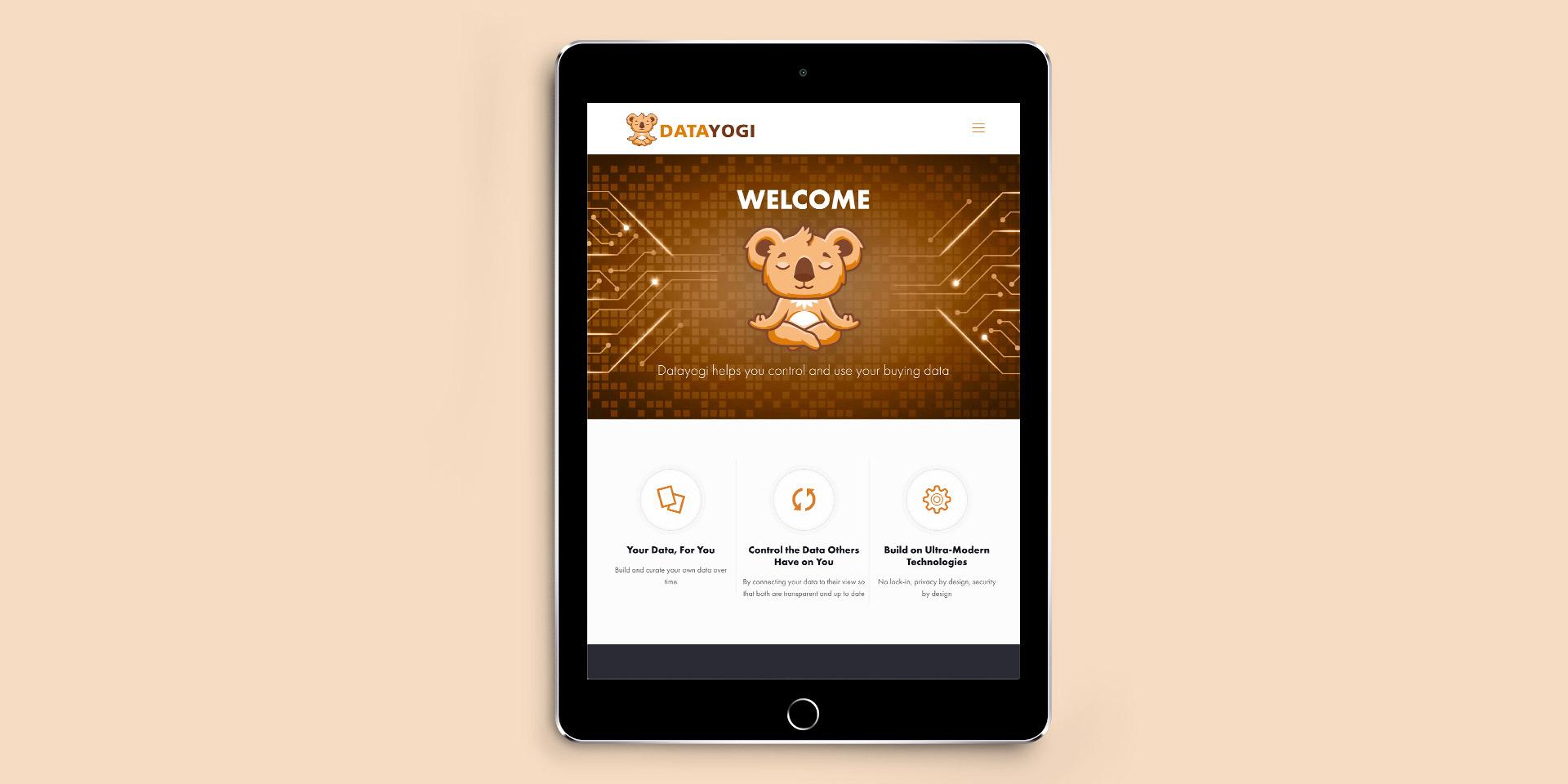 thefingerprint DataYogi branding project