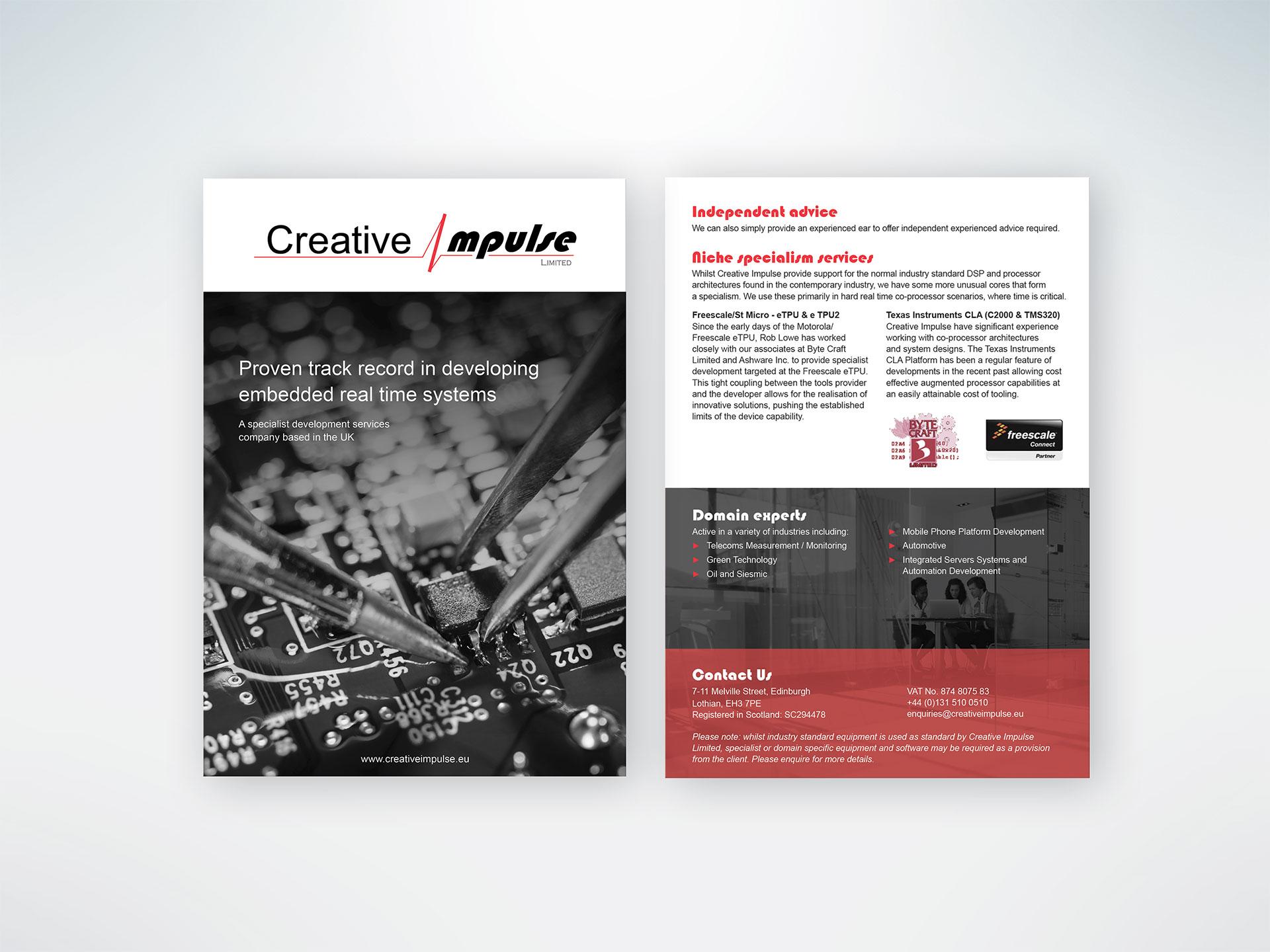 Creative Impulse Flyer 1