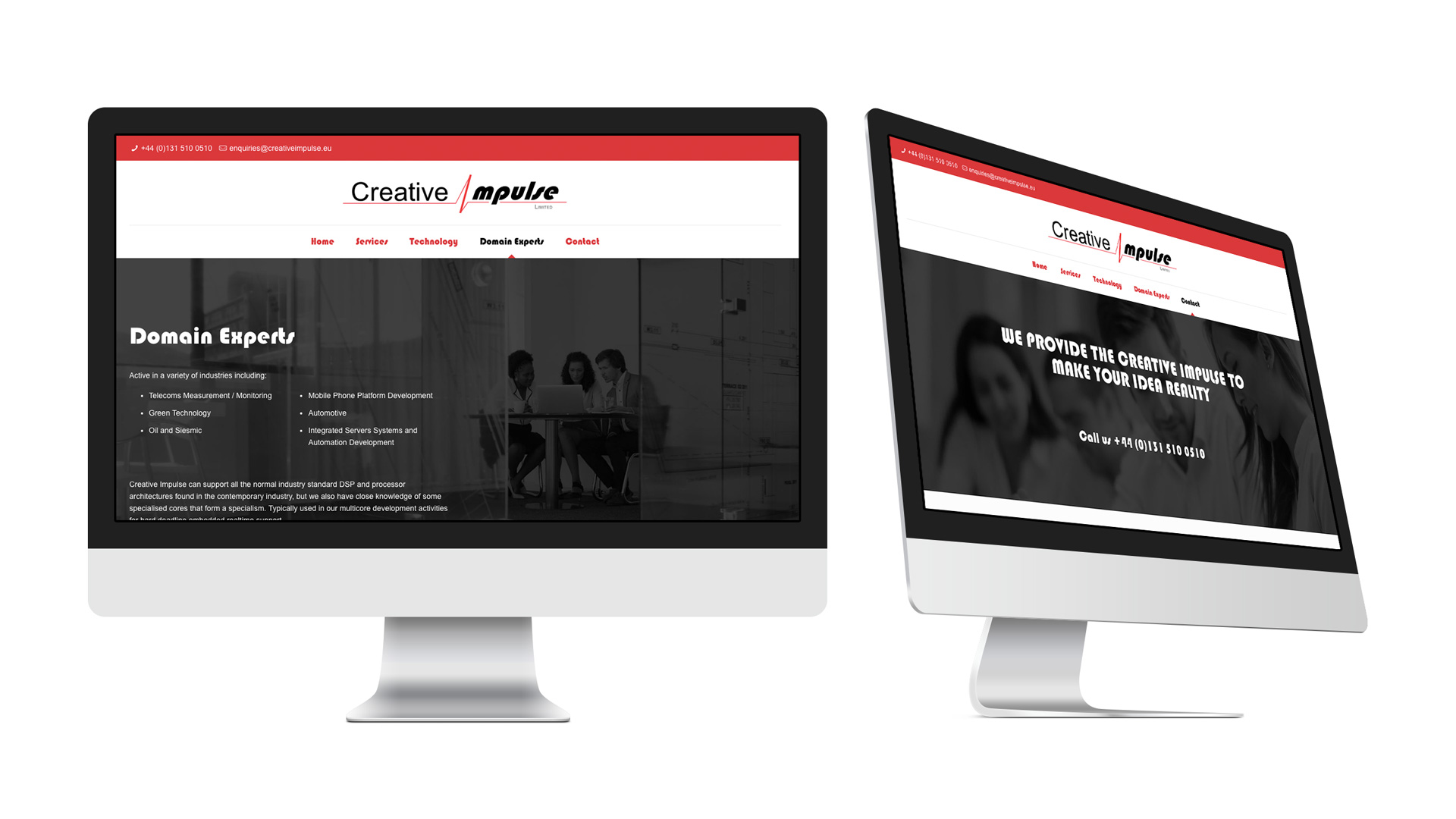 Creative Impulse Website & Flyer
