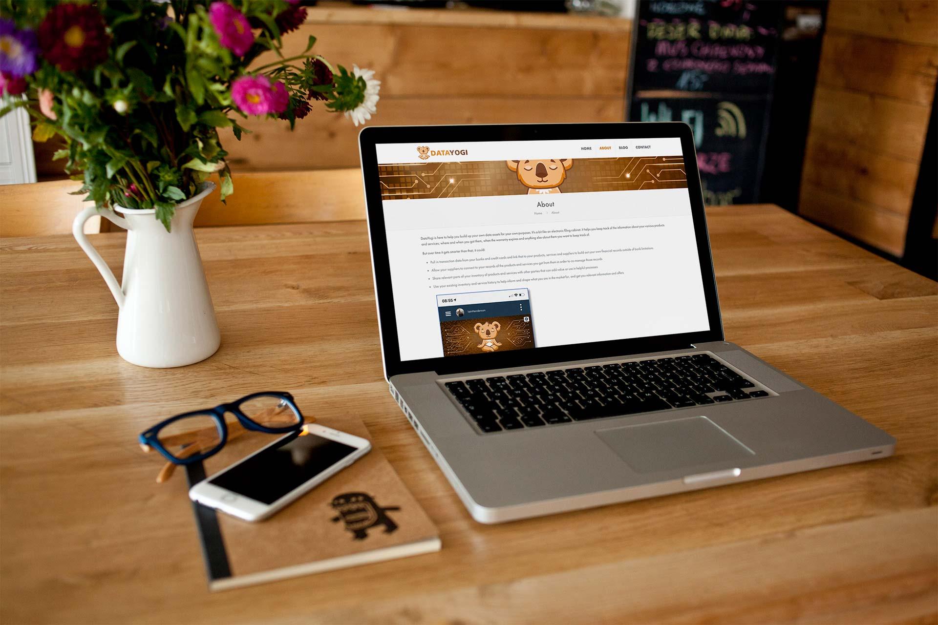 DataYogi Website About