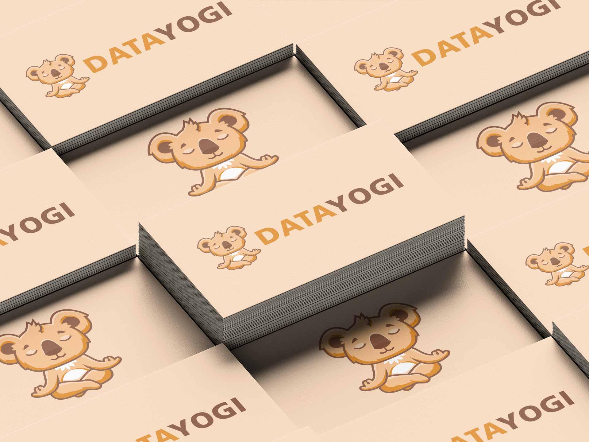 DataYogi Website Business Cards