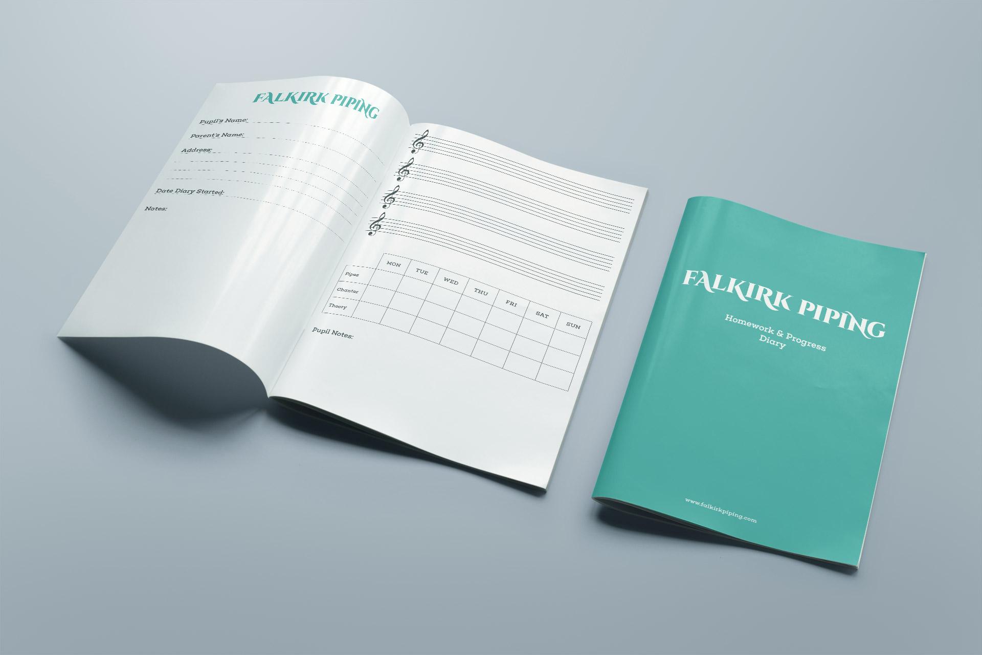 Falkirk Piping Glenbervie Duo Homework Booklet