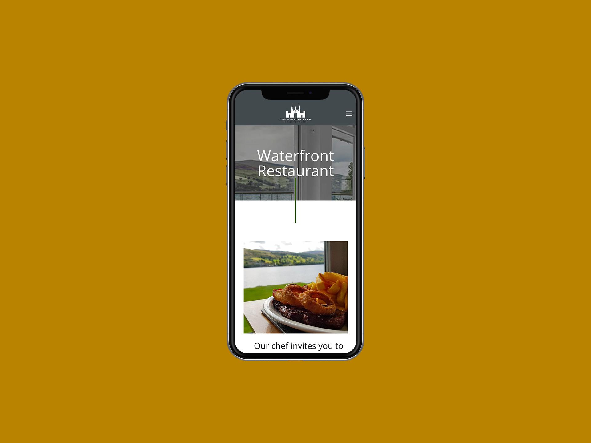 Kenmore Club Website Restaurant