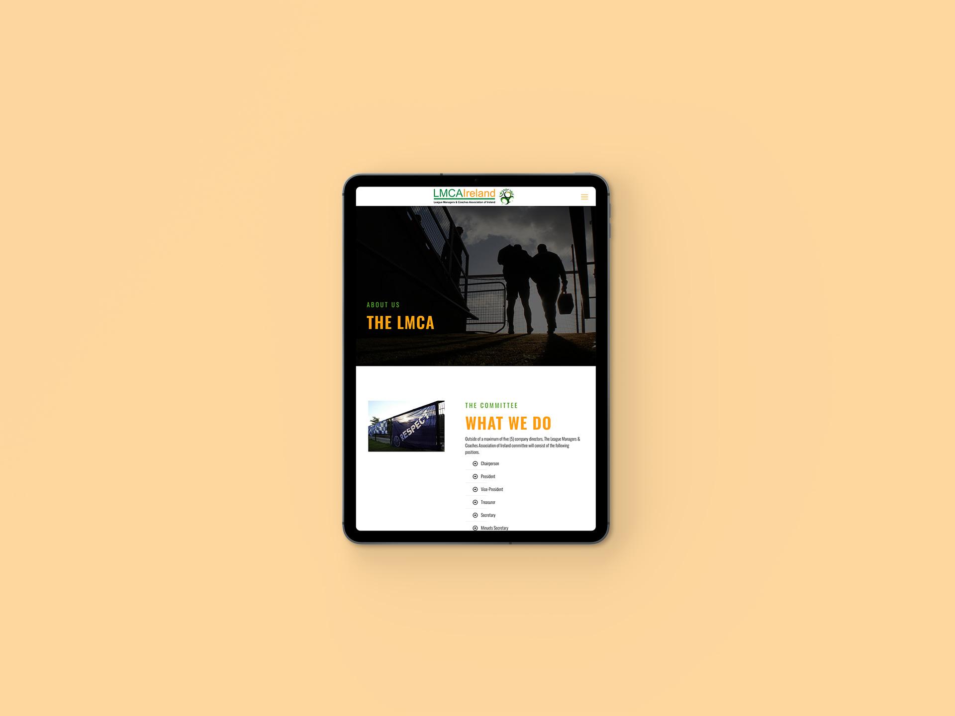 LMCA Website About
