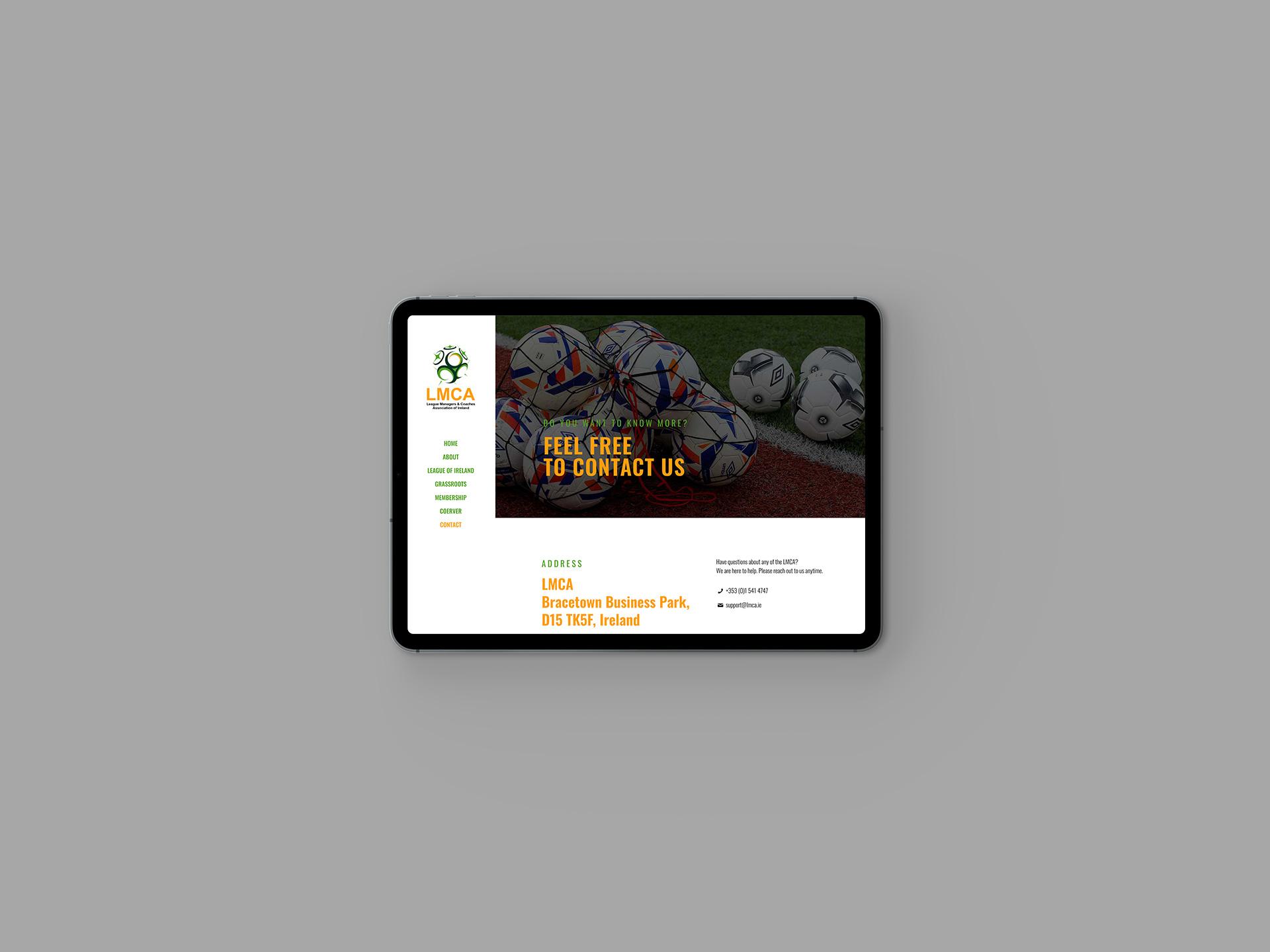 LMCA Website Contact