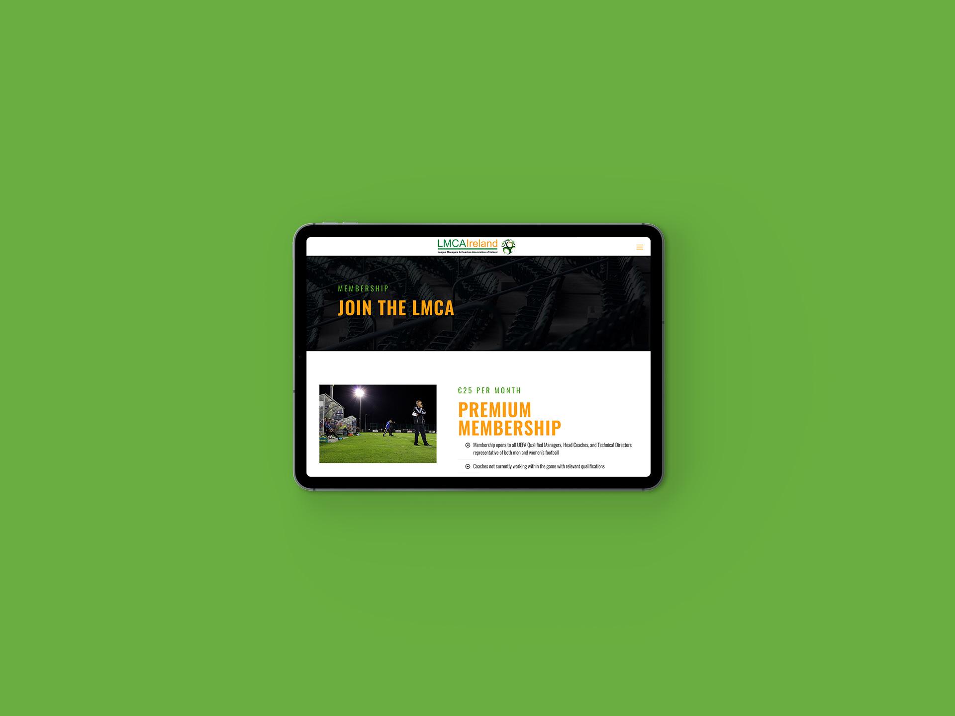 LMCA Website Membership