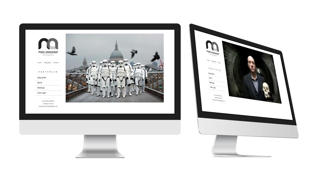 Matt Alexander Website