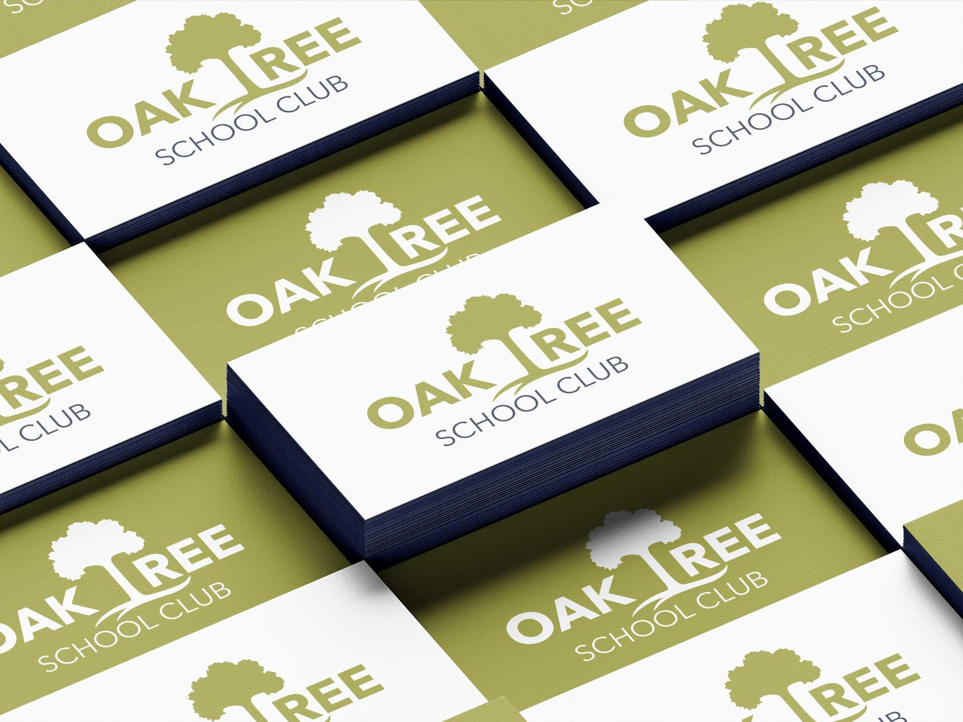 Oak Tree School Club Cards