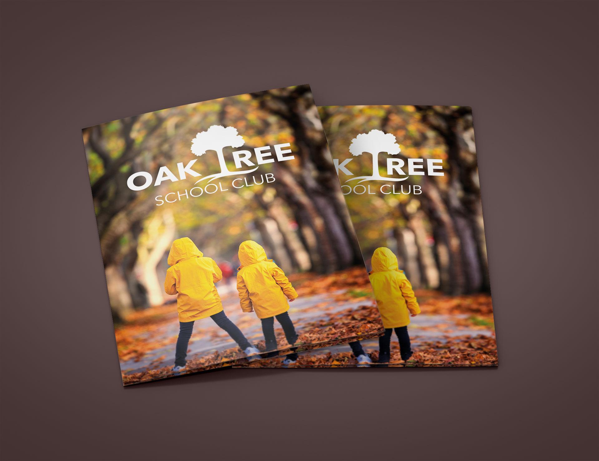 Oak Tree School Club Flyer