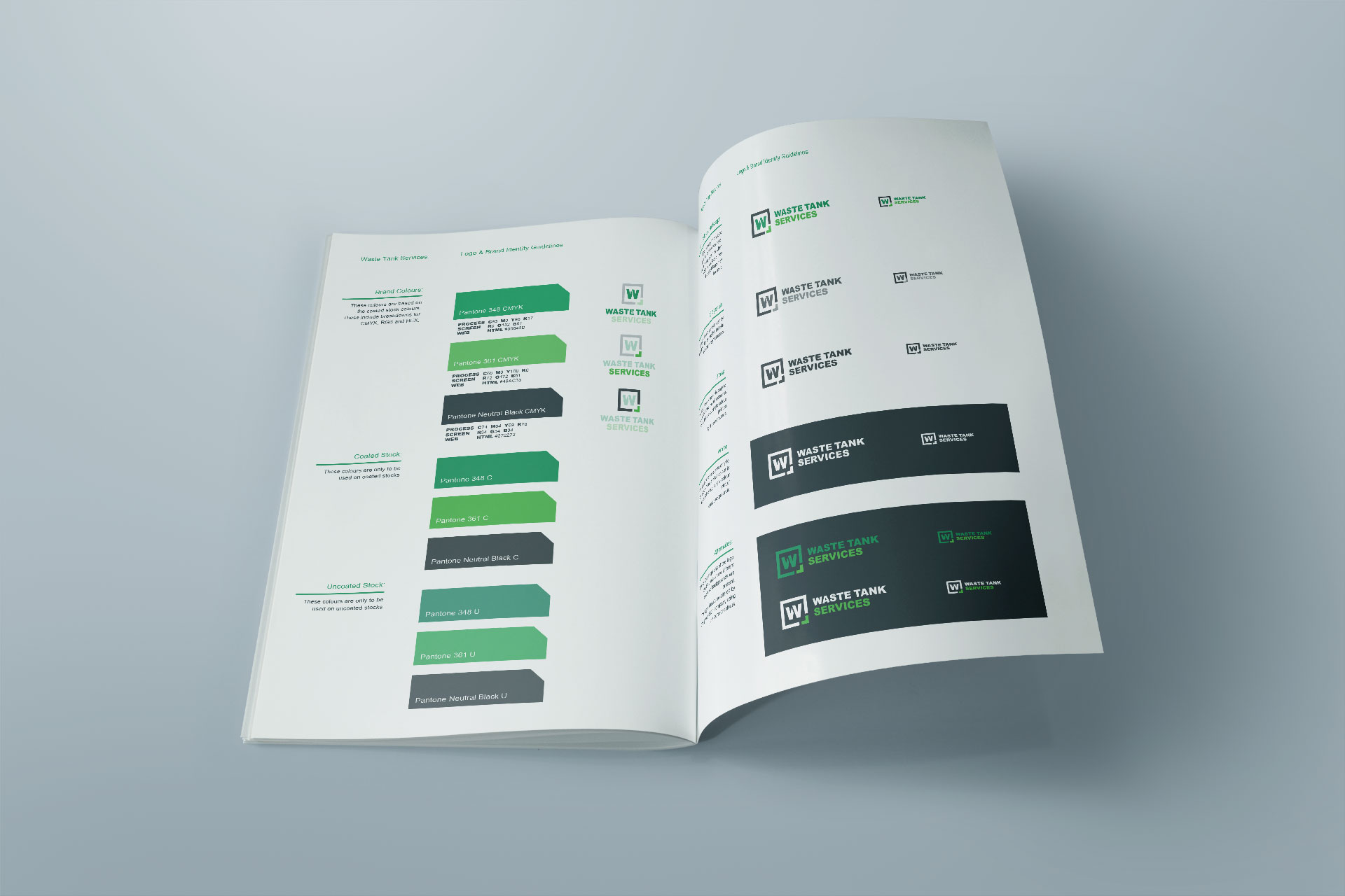 Waste Tank Services Brand Guidelines Logo