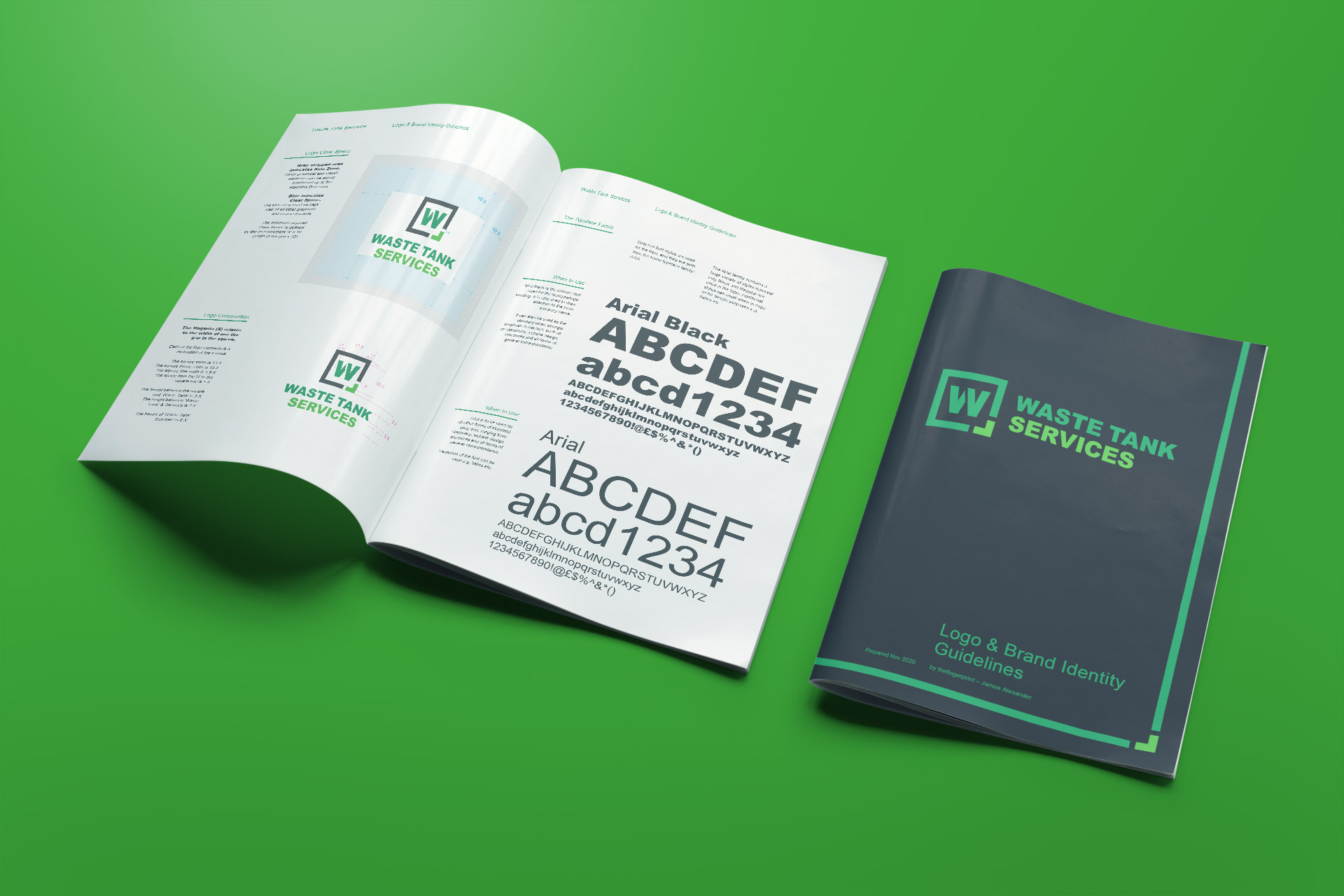 Waste Tank Services Brand Guidelines