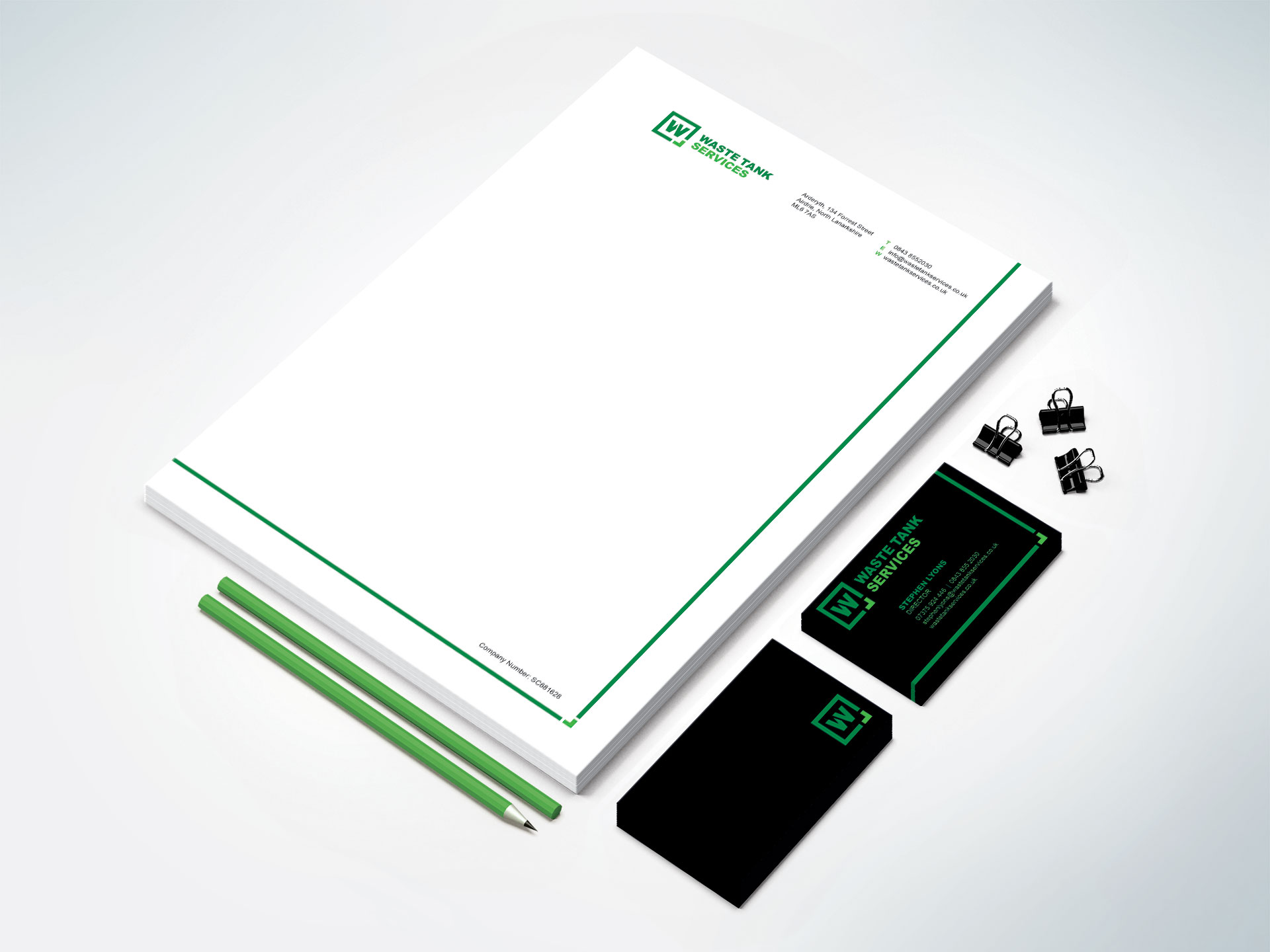 Waste Tank Services Stationery